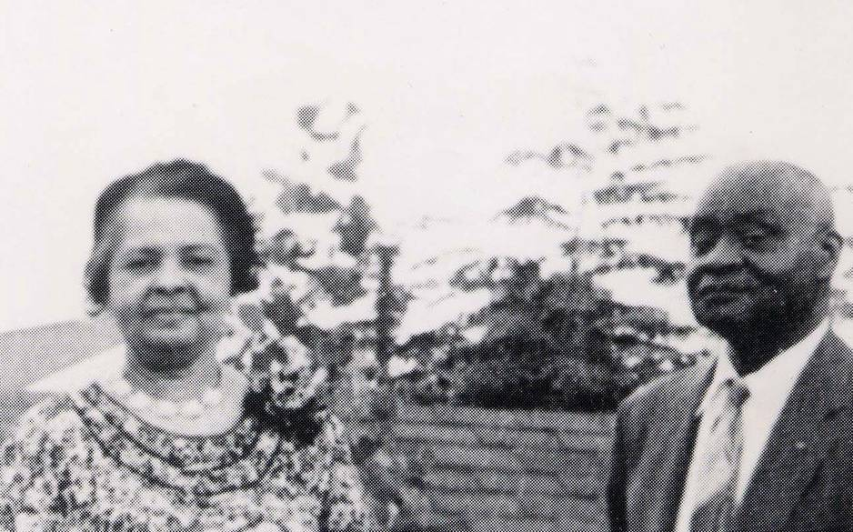 DR ELIAS THOMPSON AND WIFE ETHEL